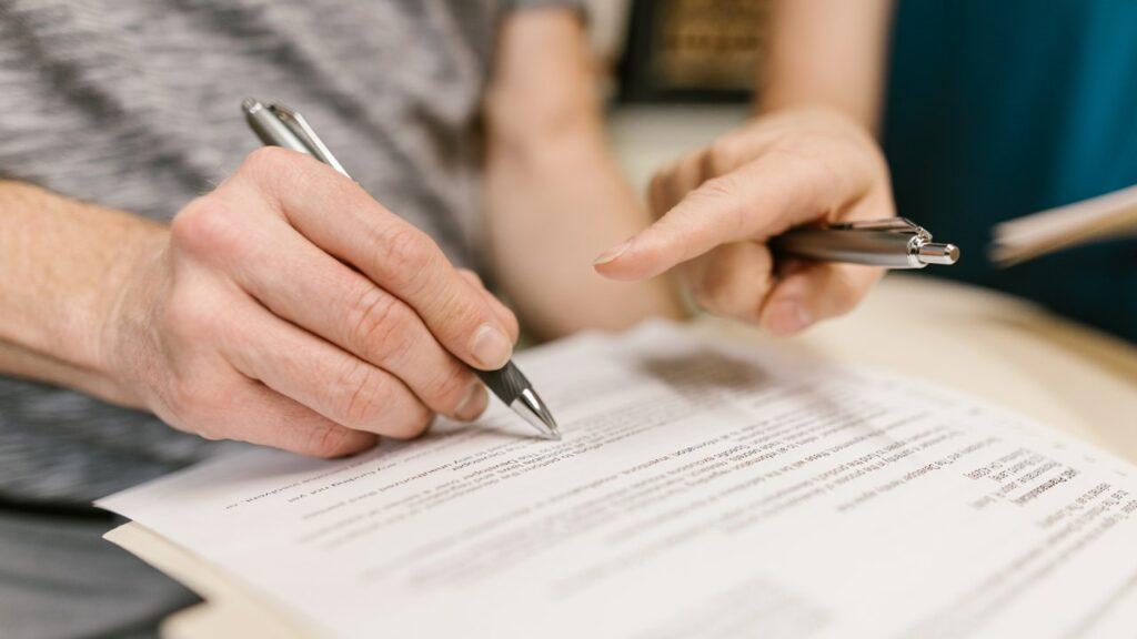 Žádost o rozvod manželství